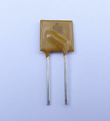 24 Pcs 5a Hold 8.5a Trip Resettable Ptc Polyfuse By Bourns Pn Mf-rg500-0