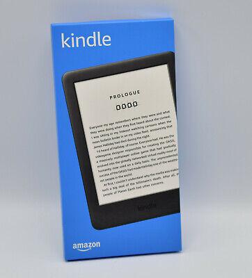 Amazon Kindle (10. Generation 2019) 4GB, WLAN, Schwarz, mit Spezialangeboten NEU