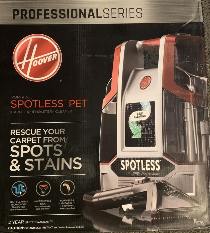 Hoover Professional Series Spotless Portable Carpet Cleaner-Refurbished