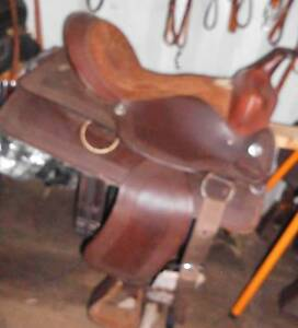3 WESTERN SADDLES $350/ $550/$650 CAN POST LAYBY IF NEEDED North Maclean Logan Area Preview