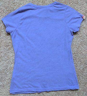 Superdry NEW Team Comets Foil Short-Sleeve T-shirt Purple XL - $29.99
