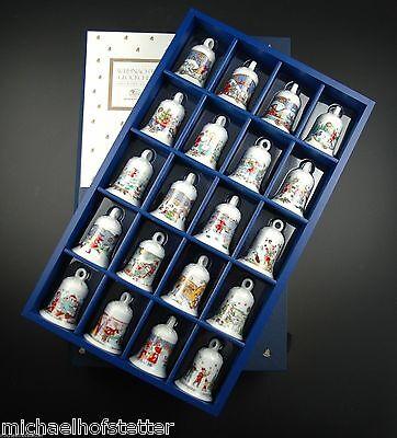 Hutschenreuther Mini Glocken Set Miniglocken Set Weihnachtsglocke 1978-1997 NEU