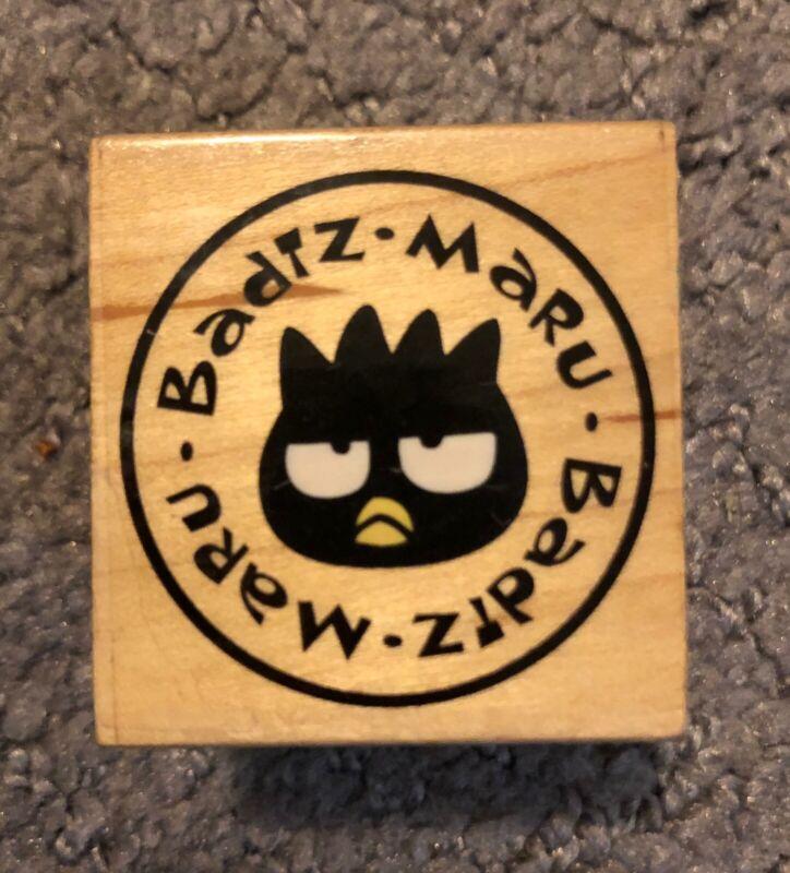 Badtz Maru Sanrio Rubber Stamp Single X-Rare HTF