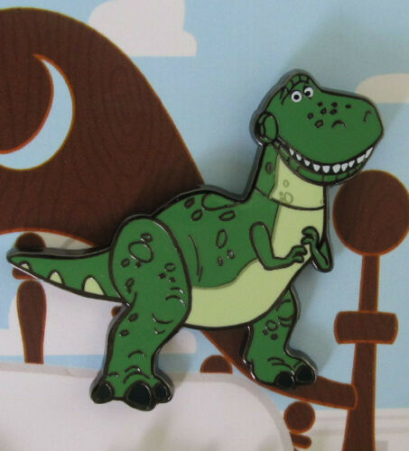 Loungefly Disney Pixar Toy Story Character Rex the Dinosaour Exclusive Pin NEW