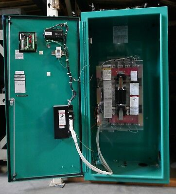 300a 480v Ats Otecc Nema-3r Automatic Transfer Switch 4-pole W Generator Motor