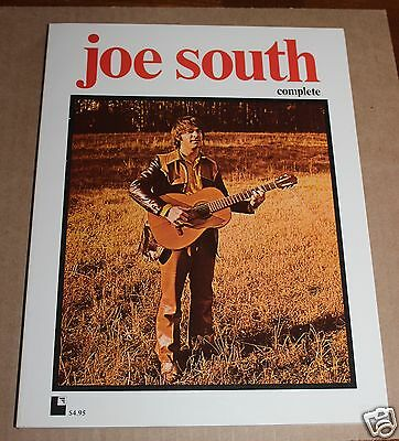 Vintage 1972  Large Joe South Complete Songbook And Story 192 Pages Brand New
