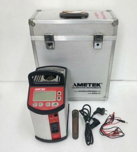 AMETEK JOFRA MTC 650A DRY BLOCK TEMPERATURE CALIBRATOR AMBIENT TO 650