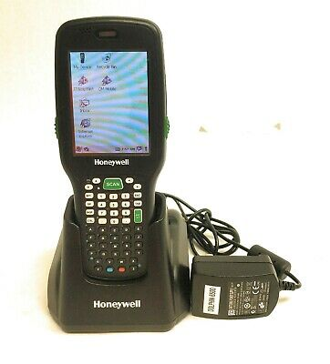 Honeywell Dolphin 6500 Handheld Scanner 6500 Base And Battery
