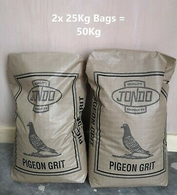 2x Jondo Mixed Pigeon Grit 25Kg - £12.55 each - Free UPS Next Day Delivery