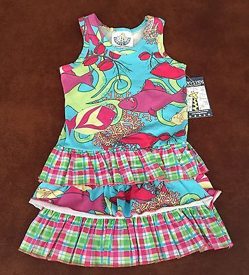 Corky's Kids Sealife Fish Dress For 24 Month Girl - Fish Dress For Kids
