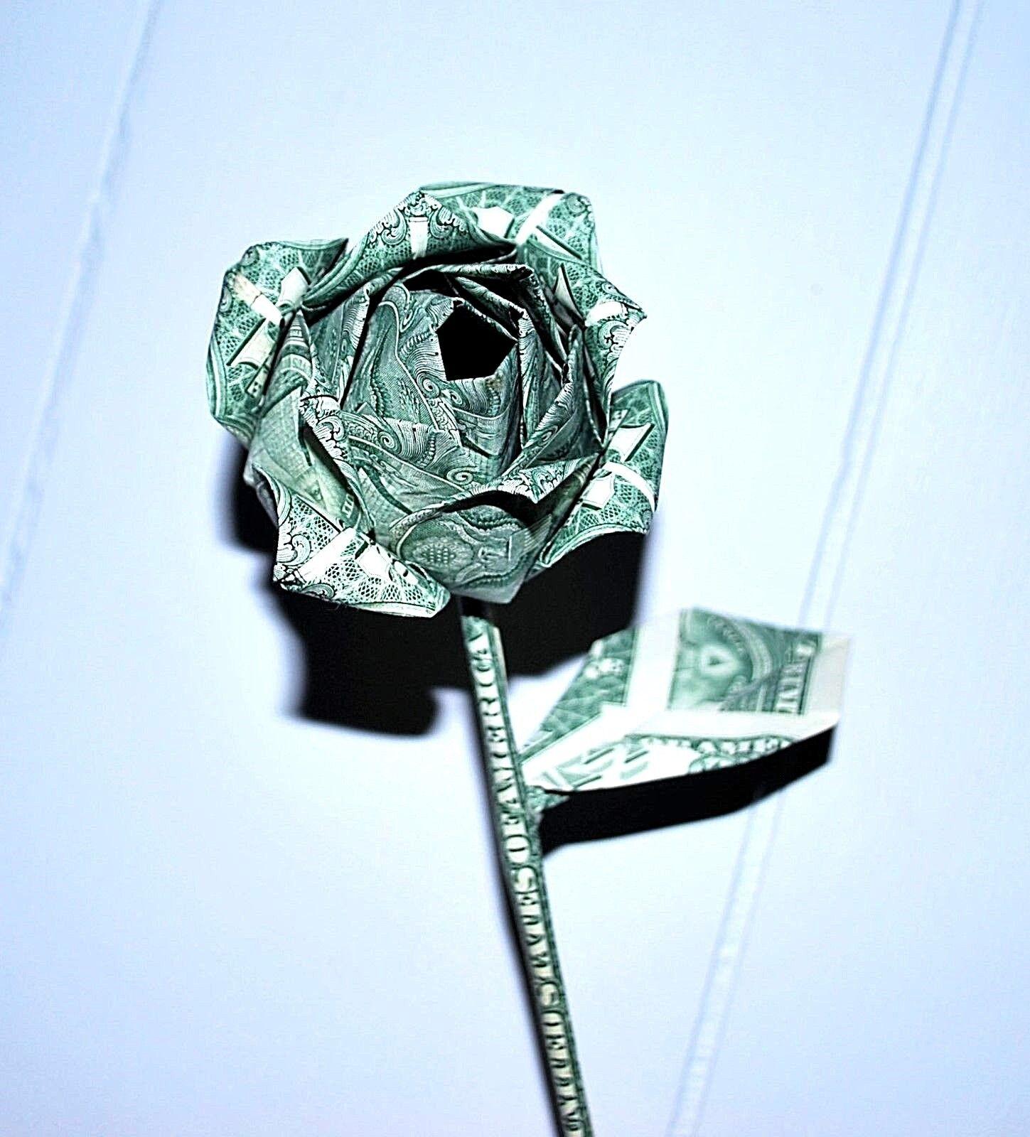 $1 origami flower