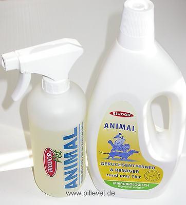 BIODOR® ANIMAL 1L mit Sprühflasche - Geruchsvernichter & Reiniger