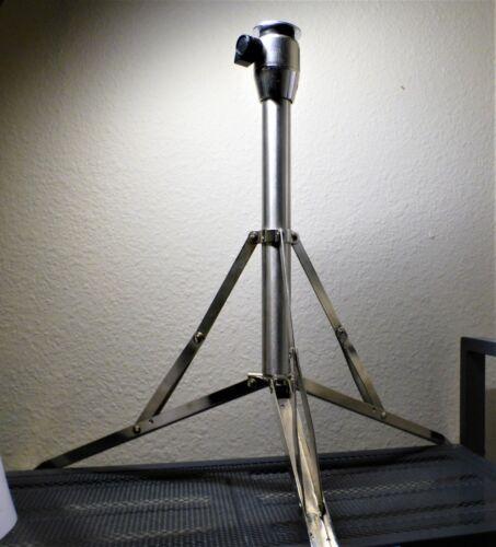 STENO STENOGRAPH Standard Tripod Folding Stand SOLID STEEL rubber feet FOLDS