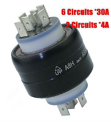 New Asiantoo A8h 8 Poles Mercury Conductive Slip Ring Ex-2 Gy