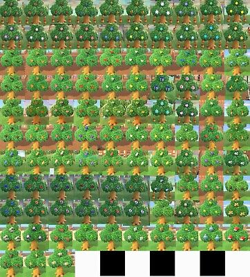 103 Different Trees Star Zodiac Fragment Heart Tree Animal Crossing New Horizons