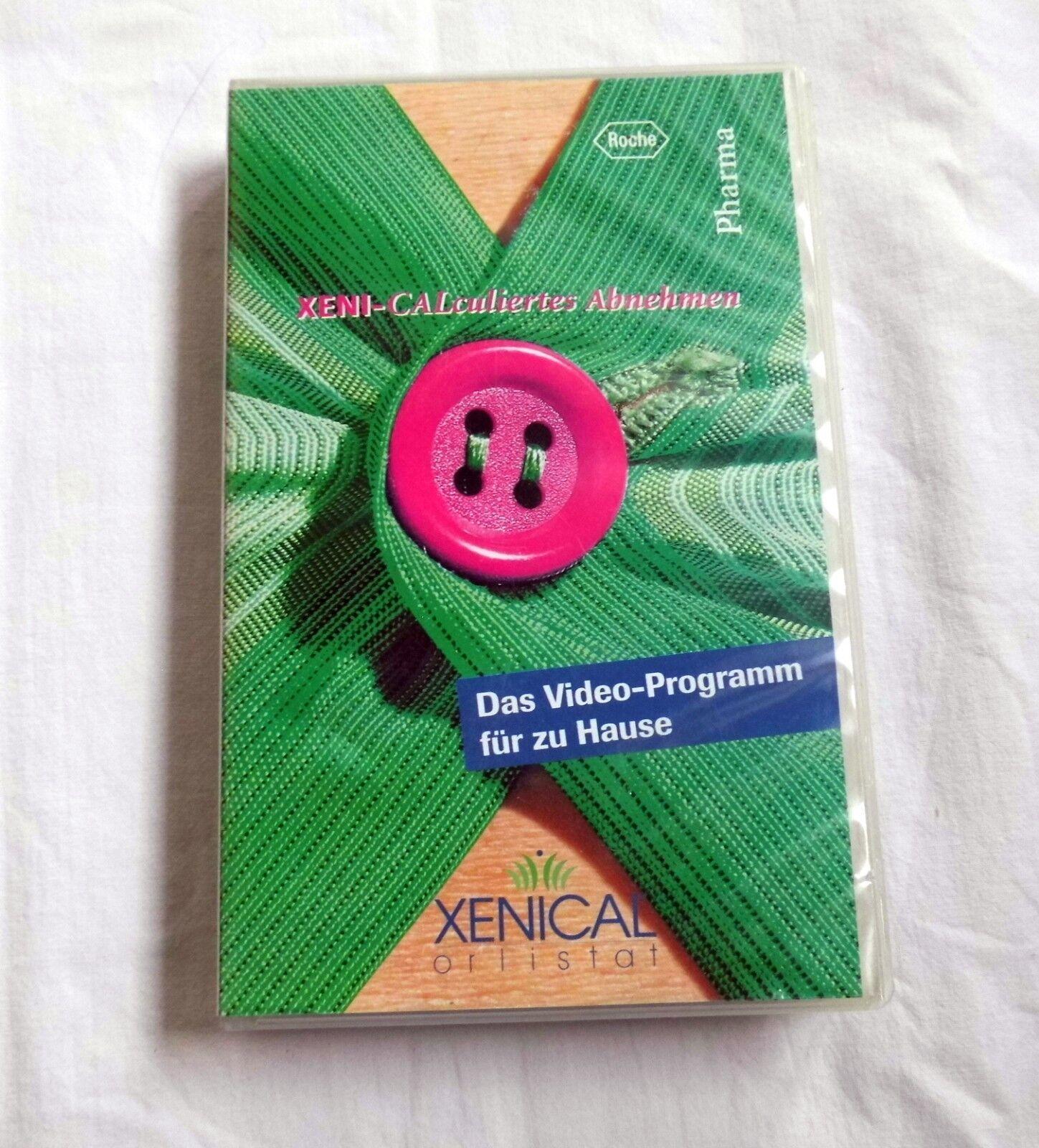 Xenical - Xeni Calculiertes Abnehmen - Video Programm für zu Hause - VHS 1998