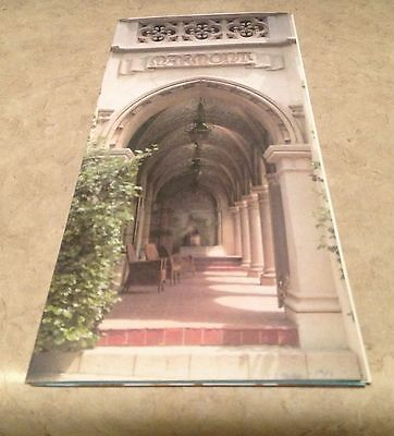 CHATEAU MARMONT Hollywood hotel California BROCHURE