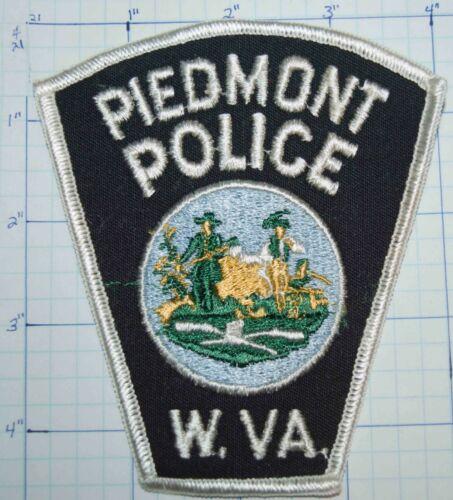 WEST VIRGINIA, PIEDMONT POLICE DEPT PATCH
