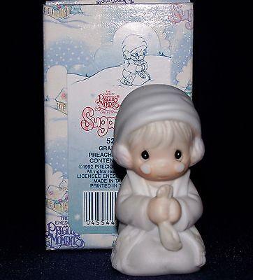 Precious Moments Sugar Town GRANDFATHER PREACHER  Mint in Orig. Box