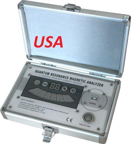 2021 EHM  Quantum Magnetic Resonance Body Analyzer Multilingual Sub Health USA