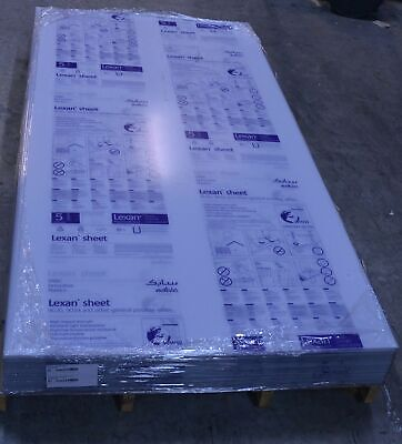 New 332 Clear Lexan Sheet 48 X 96 Polycarbonate 0.093 Plastic Thermoforming