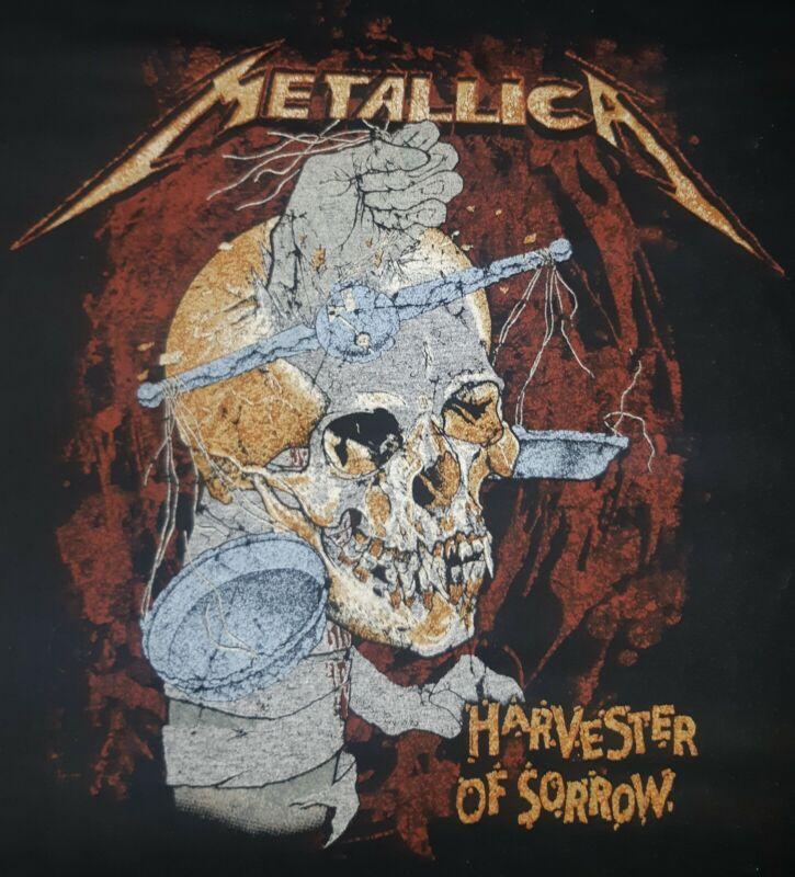 Metallica Tshirt Harvester Of Sorrow * Size XL * Liscenced