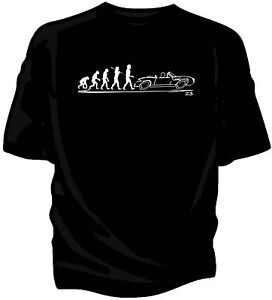 Evolution Of Man T Shirt Bmw Z3 Convertible Ebay