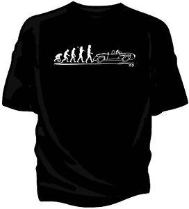 Evolution Of Man T Shirt Bmw Z3 Convertible Ebay