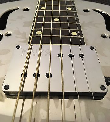 Prototype SALE Krivo Acoustic Pickup for Resonator Guitar, Tricone, National