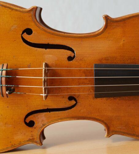 """Very old labelled Vintage violin """"Stefano Scarampella"""" 小提琴  ヴァイオリン Geige 1306"""