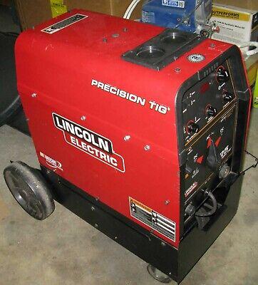 Lincoln Precision Tig 225 Welder In Excellent Condition