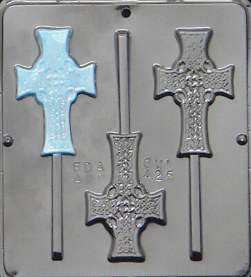 Celtic Cross Chocolate Candy Mold Religious  425 NEW](Candy Cross)