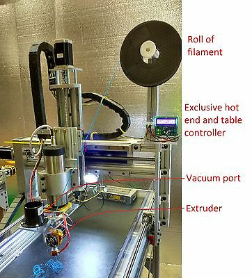 3D PRINTER PRO HIGHEST PRECISION DIY KIT for CNC ROUTER ABS PLA LCD BEST