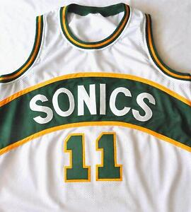 Detlef Schrempf Seattle Super Sonics Home  Jersey -ALL SIZES-