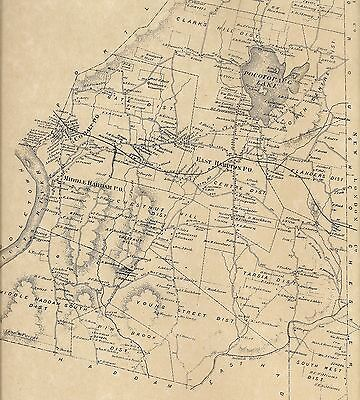 Middle Haddam Cobalt Landing CT 1874 Maps with Homeowners Names Shown