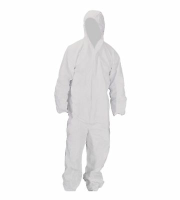 White Paper Overalls Suit Painting / Mechanic / Engineer Disposable - Painting Kostüm