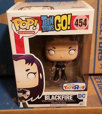 Funko Pop! Teen Titans Go! #454 Blackfire Toys R Us Exclusive