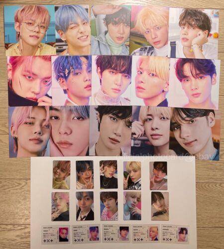 TXT 3rd Mini Album Minisode1 Blue Hour Official Photocard Postcard VR AR R Ver