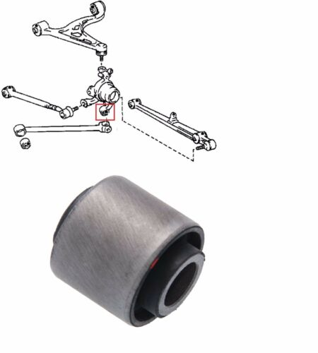 REAR ASSY KNUCKLE ARM BUSH FOR LEXUS GS300 TOYOTA ARISTO CROWN MAJESTA SUPRA