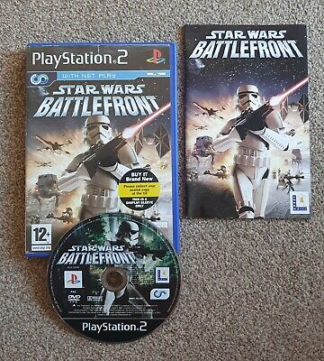 Star Wars Battlefront PS2 Game Complete Sony PlayStation Battle Front