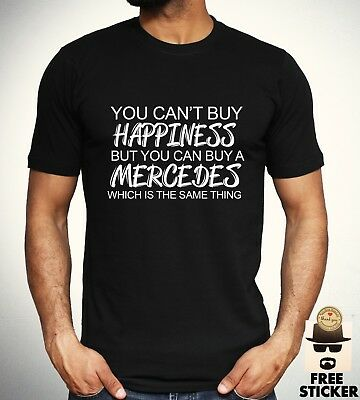 Mercedes Benz Funny T shirt Car Sport Racing Tee Mens Clothing Gift Top S - 4XL
