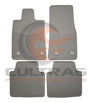 2014-2018 CTS Sedan GM Front & Rear All Weather Floor Mats Titanium 22860183
