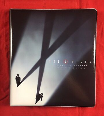 Inkworks The X Files I Want To Believe Card Binder Brand New Album Looseleaf