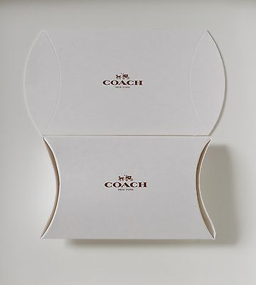 "Set of 10 Coach Gift Boxes 8"" X 5.25"" X 2"" NEW"