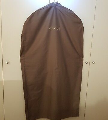 "GUCCI Garment Cover Brown Cotton  29""x54"""