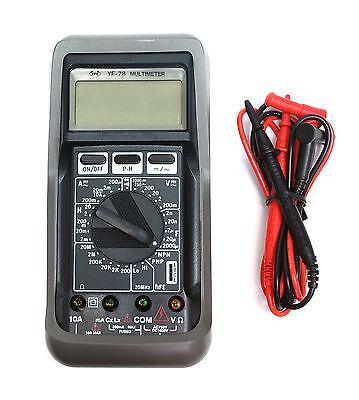 Pocket Digital Multimeter Yf-78 Capacitance 1pf2000uf Inductance 1uh20h Meter