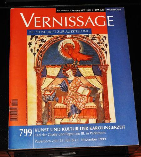 799 Kunst und Kultur der Karolingerzeit - Karl der Große und Papst Leo III in Pa