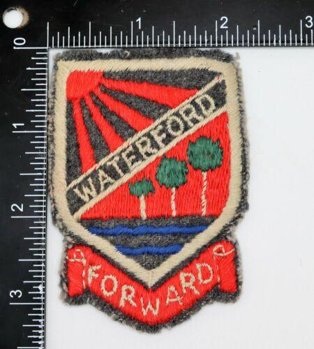 WATERFORD FORWARD PATCH Original Older Vintage