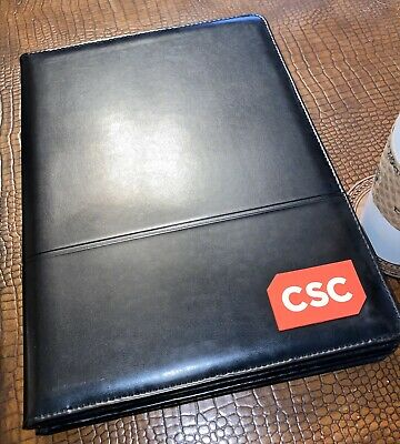 Computer Science Corporation Csc Leeds Notepad Legal Pad Portfolio Writing Pad