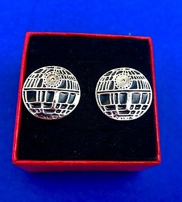 Death Star Star Wars Cufflinks Bridal Party Favor Wedding - Star Wars Wedding Favors